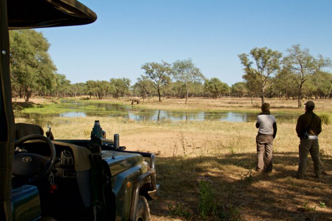 Tusk & Mane Mobile Camping Game Drive Coffee Stop