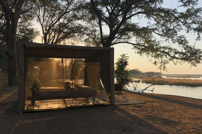 Tusk & Mane Mobile Camping Kutali Island Tent External