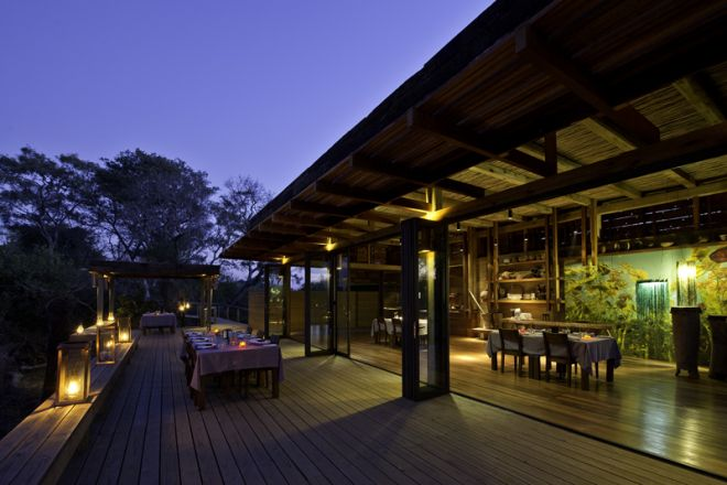 Vumbura Plains North Dining