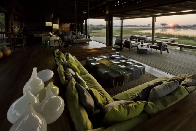 Vumbura Plains Plains North Lounge