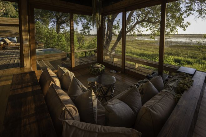 Vumbura Plains Room Lounge
