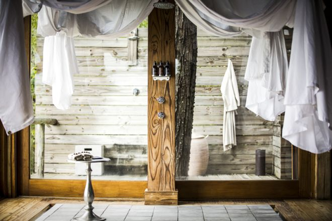 Vumbura Plains Room Shower