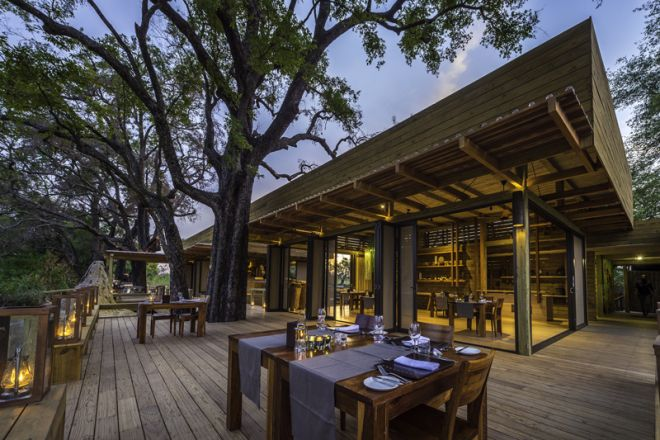 Vumbura Plains South Dining