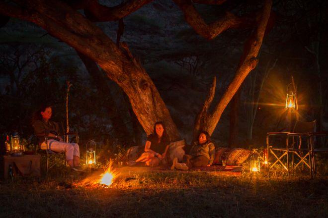 Walking Wild camp lantern