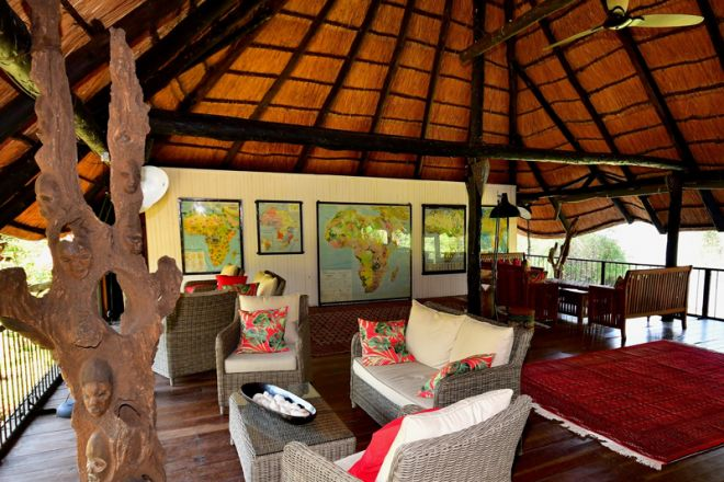 Waterberry Lodge Upstairs Lounge