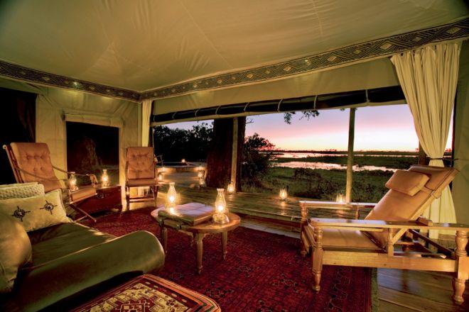 Zarafa Camp Room Lounge