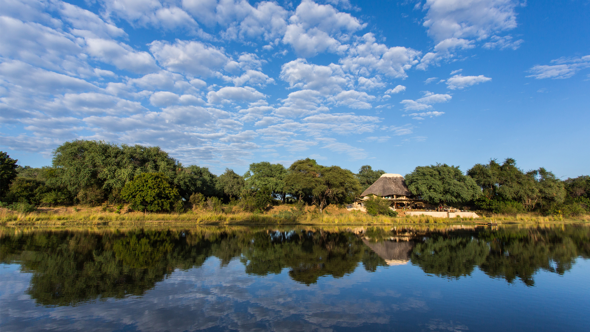 Zambia Accommodation header time + tide chongwe house exterior