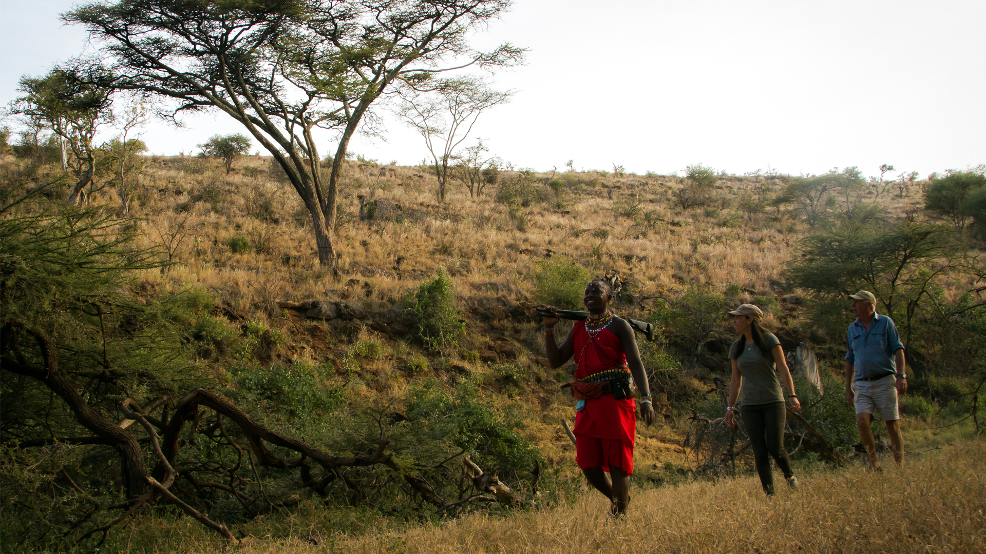 Kenya Guiding walking wild walk