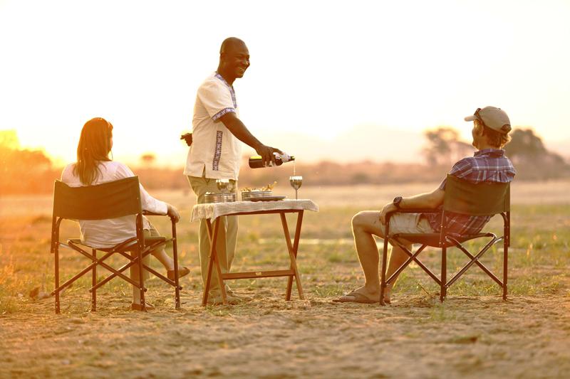 tanzania landing page ikuka safari camp sundowner