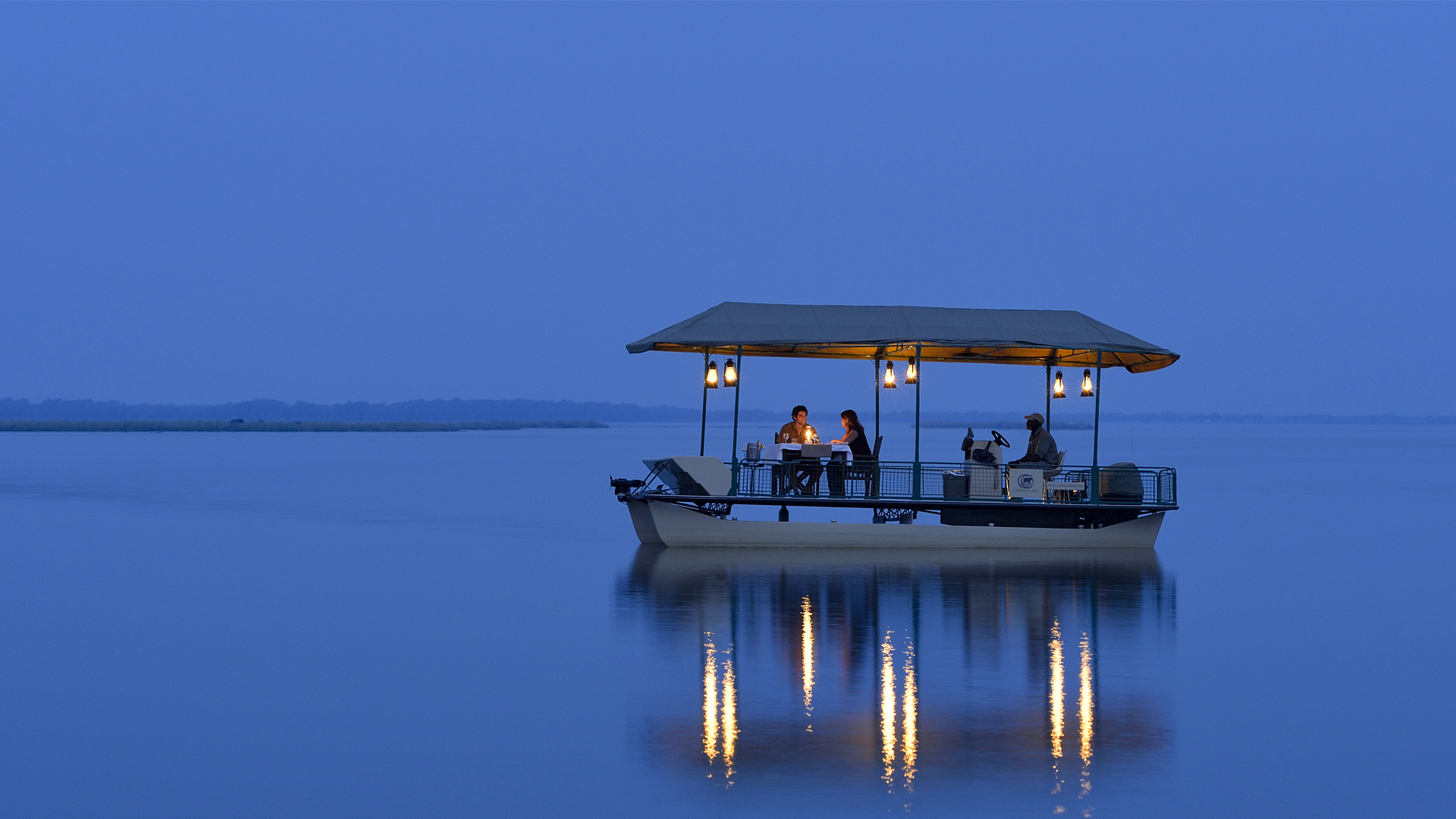 Safari Activities & Special Interest chiawa boat dinner