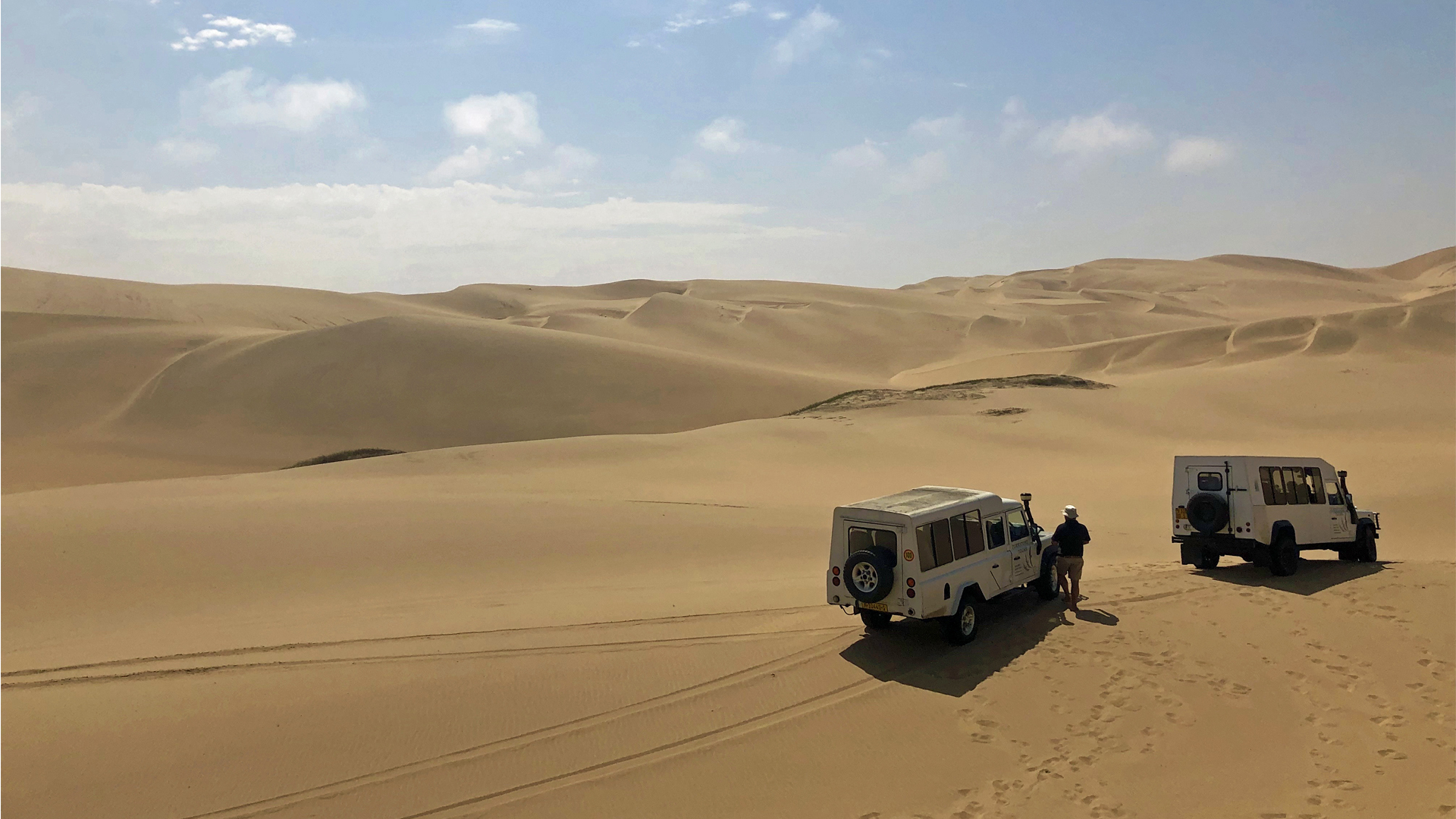 All About Safari Wild Adventure namibia self-driving through dunes