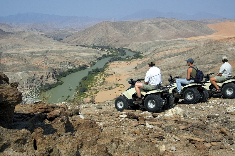 namibia topics activities serra cafema quad bikes view
