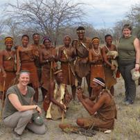 bushmen group photo