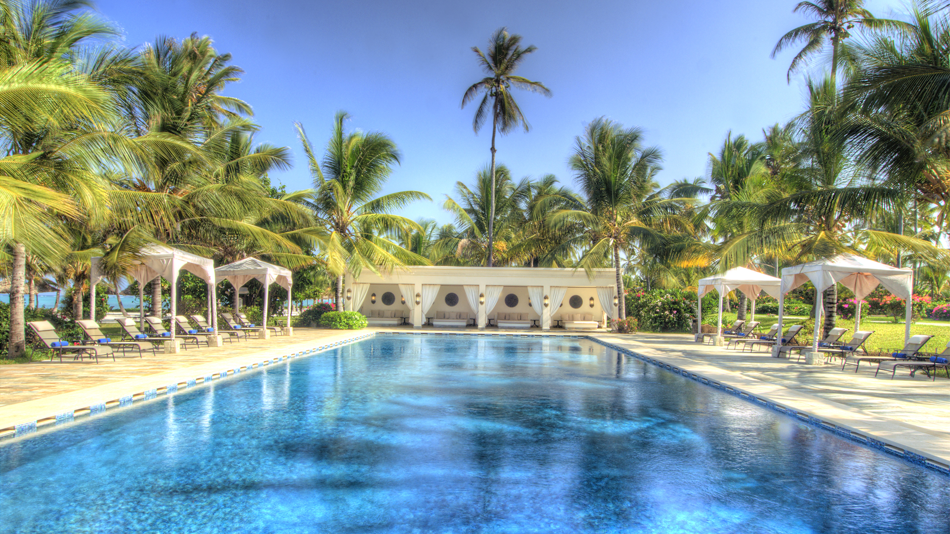 Baraza Resort & Spa pool header
