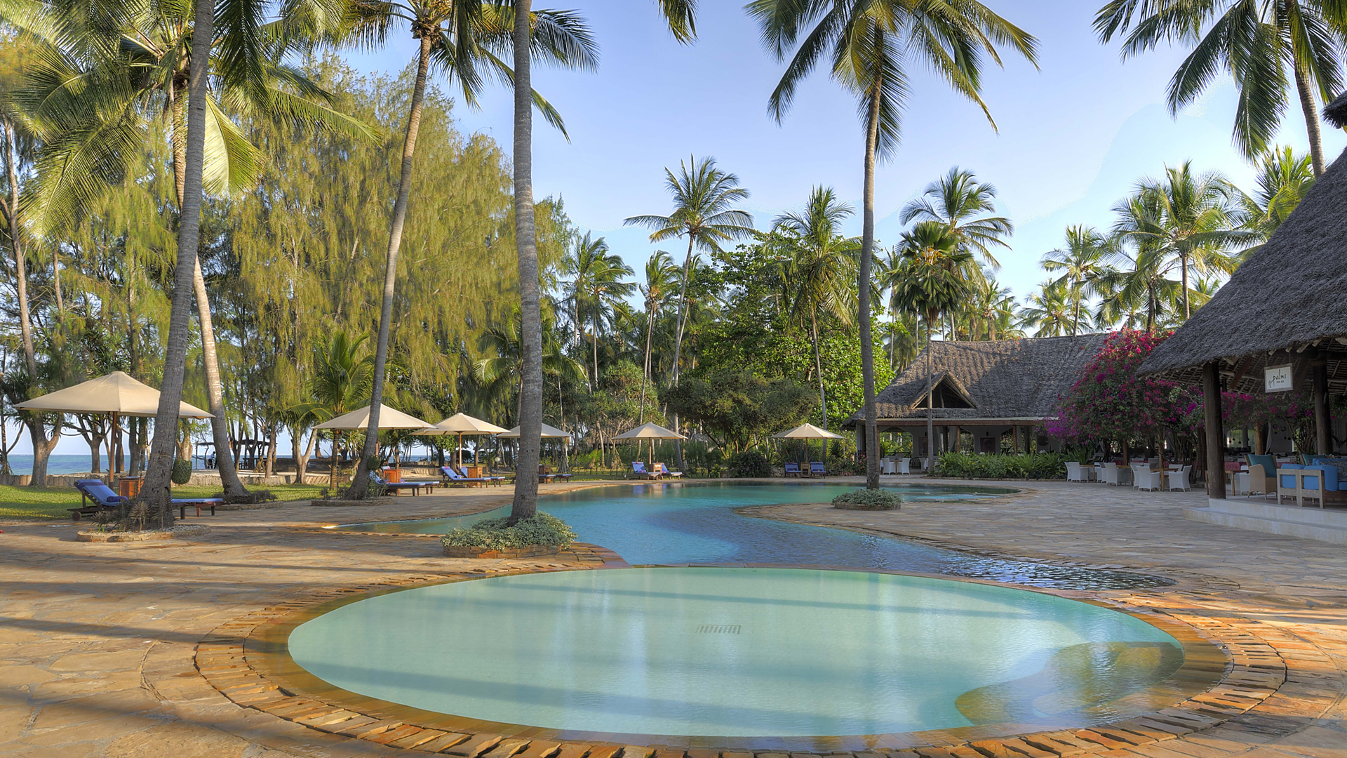 Bluebay Beach Resort & Spa pool header