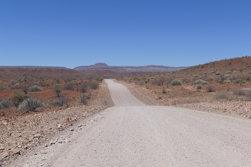 namibia landing page map